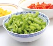 Salade de paprika Photographie stock