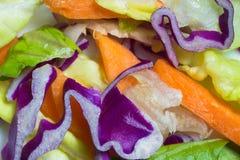 Salade de plan rapproché Photo libre de droits