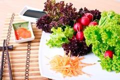 Salade de plaque Image stock