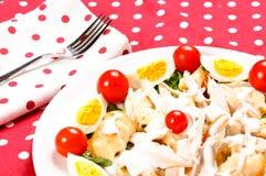 Salade de plaque Images libres de droits