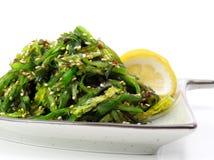 salade de plaque du Japon Photographie stock