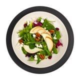 Salade de poire Photographie stock