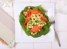 Salade de pois chiche images libres de droits