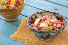 Salade de pois chiche Photographie stock libre de droits