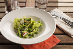 Salade de pois et de fève Image stock