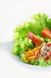 Salade de poissons Photos libres de droits