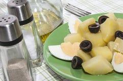 Salade de pomme de terre Photographie stock