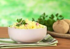 Salade de pomme de terre fraîche photo stock