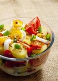 Salade de pomme de terre française Photographie stock libre de droits