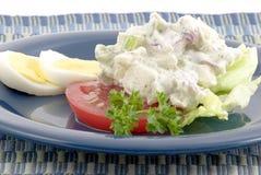 Salade de pomme de terre rouge Photographie stock
