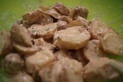 Salade de pomme de terre photos stock