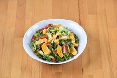 Salade de porc avec le cheddar Photos libres de droits