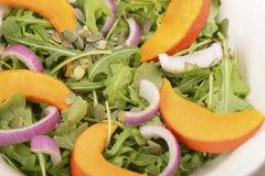 Salade de potiron Photographie stock