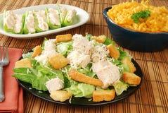 Salade de poulet photo stock