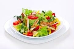 Salade de poulet Photographie stock