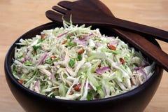 Salade de poulet asiatique Photo stock