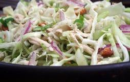 Salade de poulet asiatique Image stock