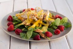Salade de poulet californienne Photographie stock libre de droits