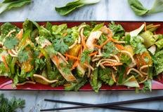 Salade de poulet chinoise Photos stock