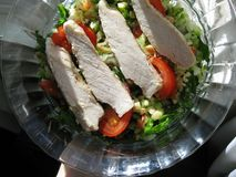 Salade de poulet de Waldorf Photos libres de droits