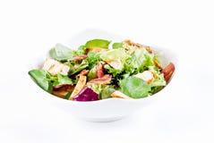 Salade de poulet et de lard photos stock