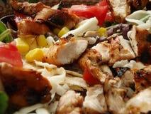 Salade de poulet gastronome Photographie stock libre de droits
