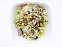 Salade de poulet grillée Image stock