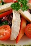 Salade de poulet Pesto 3 photo stock