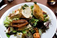Salade de poulet rôti Image stock