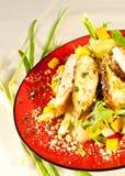 Salade de poulet thaïe Photos stock