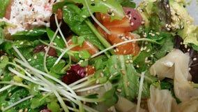 Salade de poussée Photos libres de droits