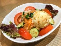 Salade de pur?e de pommes de terre photographie stock libre de droits