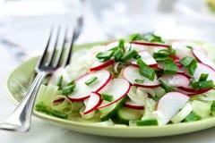 Salade de radis Photographie stock libre de droits