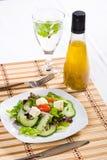 salade de repas photographie stock