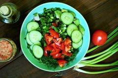 Salade de ressort Image libre de droits