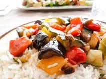 Salade de riz image stock