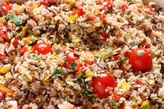 Salade de riz de Wil Photo libre de droits