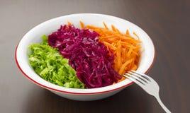 Salade de saison Photo stock