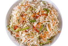 Salade de salade de choux Photos libres de droits
