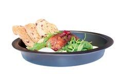 Salade de saucisse Photo libre de droits
