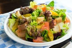 Salade de saumons fumés Image stock