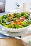 Salade de saumons fumés Photo libre de droits