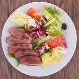 Salade de sein de canard Photos stock