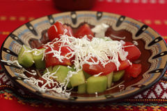 Salade de Shopsky image stock