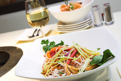 Salade de Singapour Photographie stock