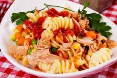 Salade de thon Photo libre de droits