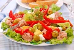 Salade de thon Images libres de droits