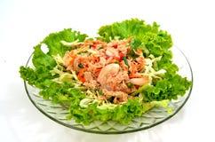 Salade de thon. Image libre de droits