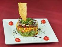 Salade de thon gastronome Photographie stock