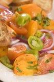 Salade de tomate Image libre de droits